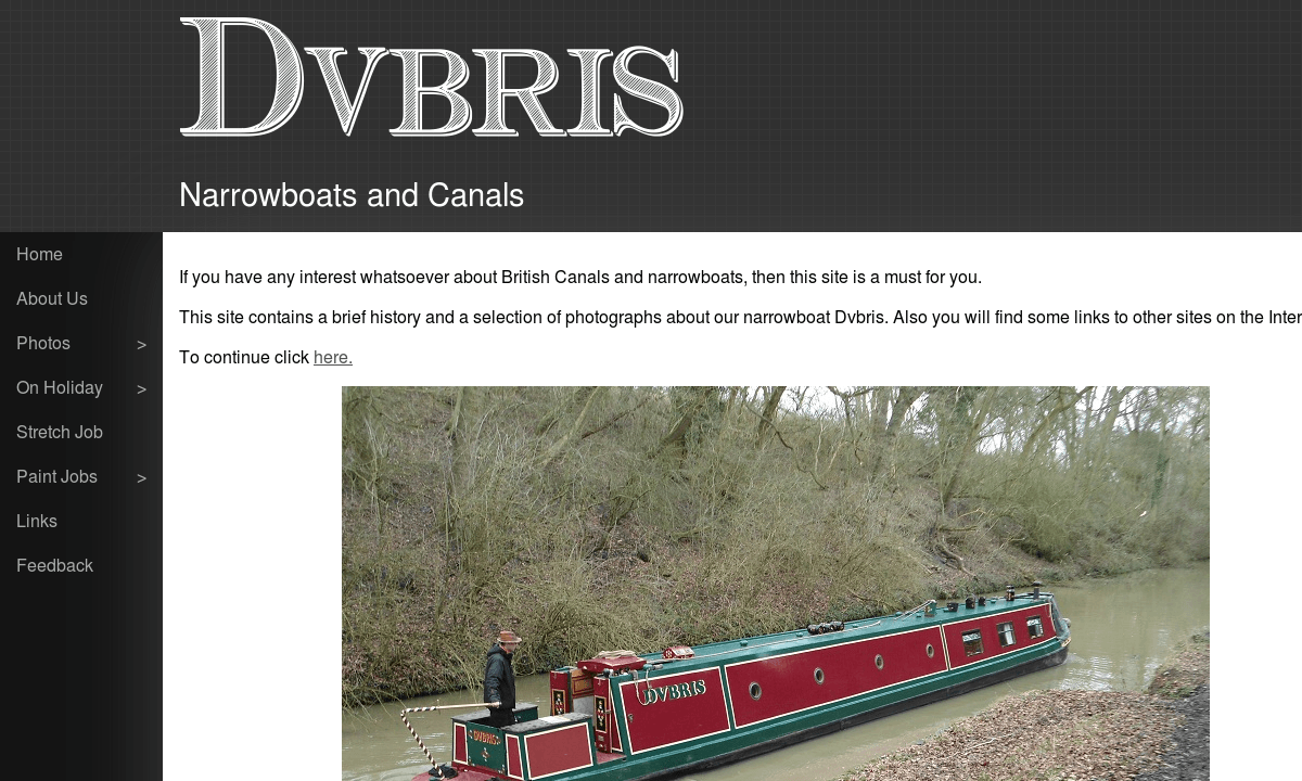 Screenshot of dvbris.co.uk
